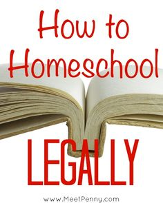 Each US state has different laws regarding homeschooling. Includes links to help you find the law for your state.