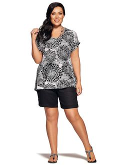 Plus Size women's Clothing, Large Size Fashion Clothes for WOMEN in Australia - SYLVIE ENCIRCLE TOP - TS14