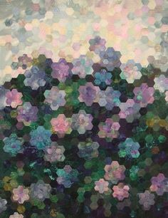 Hydrangea 2000 - yes this is a QUILT ! absolutely beautiful