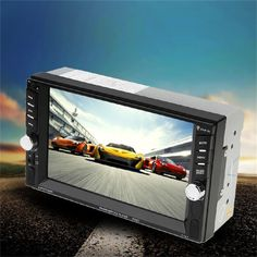 2016 New 7 Inch Touch Screen Display Auto Car DVD Player Bluetooth 800*480 DVD Radio Player For Vehicle Black