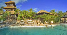 Beachfront villa on Necker Island