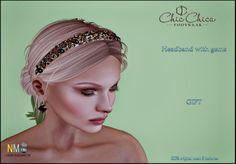 ChicChica Headband Gift Second Life Freebie