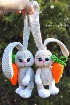Crochet Baby Toys, Easter Crochet, Cute Crochet, Crochet Animals, Crochet Crafts, Crochet Geek, Knitting Dolls Free Patterns, Knitted Dolls Free, Easy Crochet Patterns
