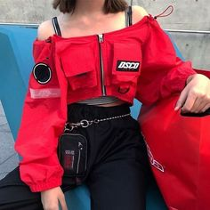 Korean Fashion Trends you can Steal – Designer Fashion Tips Teen Fashion Outfits, Edgy Outfits, Korean Outfits, Mode Outfits, Grunge Outfits, Cute Casual Outfits, Girl Outfits, Korean Clothes, Bad And Boujee Outfits