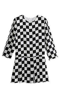 Welcome to Spot Pop Fashion   Spot Pop Fashion Dress In Chess Print