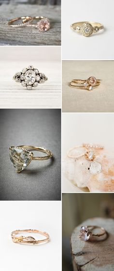 A Beautiful Engagement Ring Discussion And Inspiration Post With Diamonds And Antique Rings. 0003 What Shape Are You?