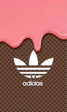 Adidas // Fond d'ecran // Iphone Wallpaper // Tendance // Glace Ice cream