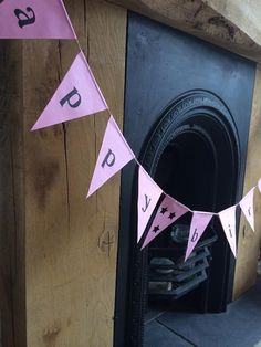 Beautiful handcrafted disposable paper bunting. by MinkandBerts