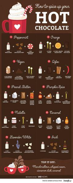 kocham gorącą czekoladę <3