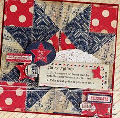"""Authentique Paper DT member Natalie Dever shares a quilt made with """"Glory"""""""