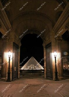 The Louvre Museum at Night Paris, France Pyramid Architecture Original Fine Art Photography Wall Art Photo Print. This is a photo I took at the Louvre at night. This place was absolutely spectacular! The architecture, amazing! Be sure to check out more photos from my European travels! Beautiful, unique and all original, prints by Joan Wilcox- Glanville. Each print comes in a clear resealable archive bag ready for framing. All are original prints and are handmade and printed by the artist…