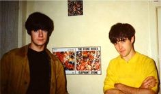 John Squire and Ian Brown
