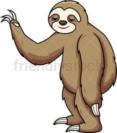 Sloth Sleeping On Tree Branch Cartoon Vector Clipart - FriendlyStock Sloth Sleeping, Vector Clipart, Take A Nap, Tree Branches, How To Fall Asleep, Tigger, Clip Art, Cartoon, Disney Characters