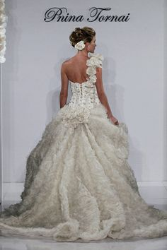 From the 2012 #pnina_tornai bridal collection style no. 4153