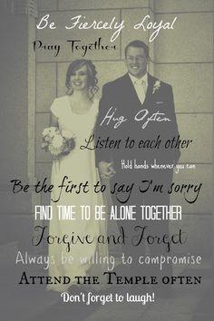 Yearning to Create: Marriage Advice Wedding Photo