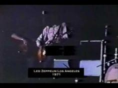 Led Zeppelin Live Los Angeles 8/22/1971 Super Rare 8mm Color Footage (HQ)