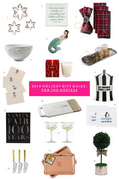 2014 Holiday Gift Guide: For the Hostess on www.sequinsandstripes.com