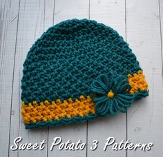 Ravelry: Cancer Charity Hat 2015 pattern by Christins from My Sweet Potato 3