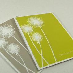 Dandelions are always so pretty on paper...