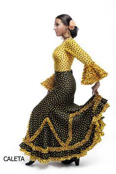 Trajes de flamenca Tokio 2014   El Ajolí - Huelva