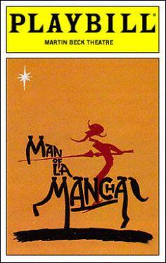 Man of La Mancha Playbill - Opening Night