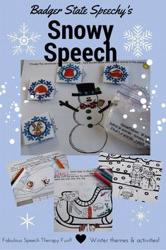 Your students will be engaged with this winter-themed packet that works on multiple speech sounds, including blends!