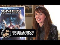 awesome Watch Carolina Bartczak Exclusive X-MEN: APOCALYPSE Interview