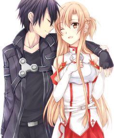 El problema del amor es que llegaríamos hasta el fin de los tiempos por esa persona Kirito and asuna