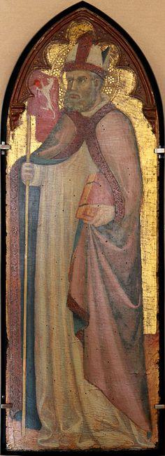 Bartolo di Fredi - San Savino - 1415 - Tempera su tavola, oro macinato - Musée du Petit Palais, Avignone