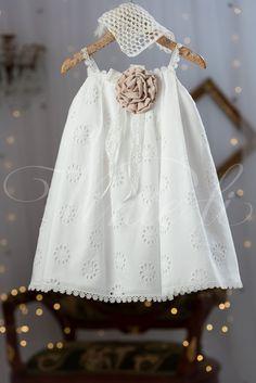 Φόρεμα Βάπτισης Καλοκαιρινό για Κορίτσι Baby Knitting, Crochet Baby, Baby Girl Christening, Fairy Godmother, Baby Love, Baby Kids, Girl Outfits, Camisole Top, Flower Girl Dresses
