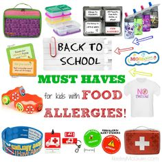Keeley McGuire: Back to School with Food Allergies & Intolerances ~ MUST HAVES!