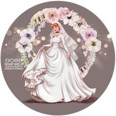 Wedding Day - Cinderella by tiffanymarsou on DeviantArt Cinderella Wedding, Cinderella Dresses, Princess Wedding, Cinderella Pictures, Cinderella Disney, Wedding Gowns, Wedding Day, Bijoux Fil Aluminium, Tumblr Image