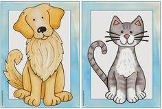"""Englisch in der Grundschule: Material zum Thema """"pets"""""""