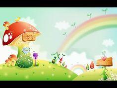 Spring Landscape With Rainbow Wallpaper Frühling Wallpaper, Wallpaper Images Hd, Cartoon Wallpaper Hd, Spring Wallpaper, Cute Girl Wallpaper, Rainbow Wallpaper, Cute Wallpaper Backgrounds, Cute Wallpapers, Wallpaper Keren