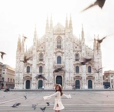 Duomo Di Milano, Milan ✈✈✈ Here is your chance to win a Free Roundtrip Ticket to Milan, Italy from anywhere in the world **GIVEAWAY** ✈✈✈ https://thedecisionmoment.com/free-roundtrip-tickets-to-europe-italy-milan/