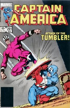 marvel1980s:  Captain America #291 and Fred Hembeck's take on...