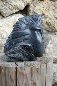 Sculpture Véronique Delalix- steatite