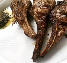 Lamb with chimichurri #lamb #lambchops #yummy #pornfood #foodforfoodies #foodstagram #foodshare #foodie #market #zetland #bbq #trailer #foodtrailer #sydneyfood by follow_the_cow_sydney