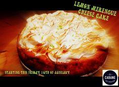 Lemon Merengue Cheese Cake