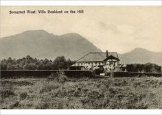 Photograph-Somerset West, Western Cape, Cape Colony, South Photo Print made in the USA Cape Colony, Somerset West, Cape Town, Homeland, Old Photos, Colonial, South Africa, Villa, Stock Photos