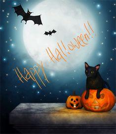 Cute Halloween animated gif