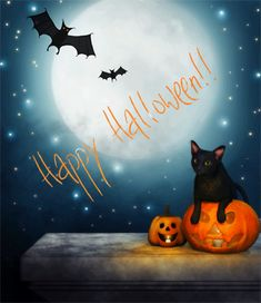 Cute Halloween animated gif