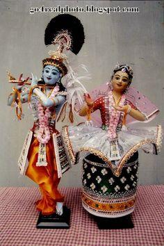 Manipuri Dance Dolls as Radha Krishna