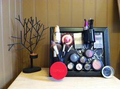Make up holderMagnetic by HomeSweetHomeDecor on Etsy, $26.00