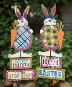 Exceptional Easter Egg Garden Stake Set | Holidays | Pinterest | Garden Stakes, Easter  And Egg