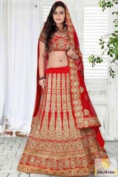 Wedding Special #Red Color Heavy Marriage Wear Chaniya Choli #lehenghacholi, #lehenghas, #bridallehenghas, #weddinglehenghacholi, #designerlehenghacholis, #lehenghacholionline, #ghaghracholi,   #weddingbridallehenghacholi, #indianweddinglehengha More : http://www.pavitraa.in/store/lehenga-style/?utm_source=mk&utm_medium=pinterestpost&utm_campaign=13Jan Any Query :  Call / WhatsApp : +91-76982-34040