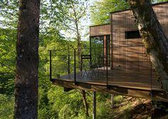 Cabane Cèdre gris #4 | Cabanes dans les arbres en Corrèze