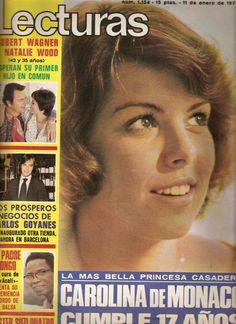 Princess Caroline of Monaco.Lecturas,January11,1974.