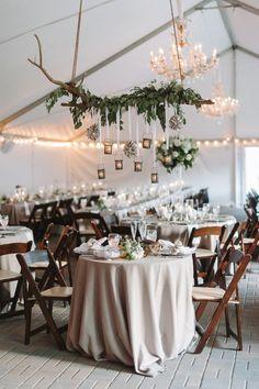 Seaside rustic indoor sweetheart table decor / http://www.deerpearlflowers.com/top-20-rustic-country-wedding-sweetheart-table-ideas/3/