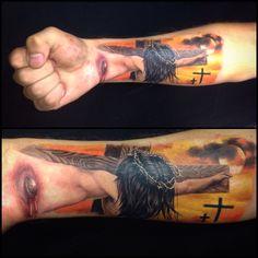 Tattoo 4D hecho por mi en opio studio
